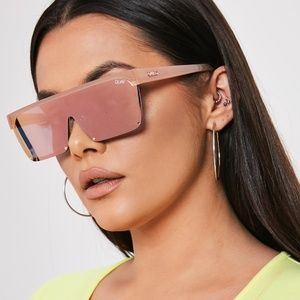 NTW - Quay Australia x Benefit Mirrored Sunglasses